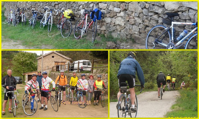 vélo route (avec trace gps disponible a votre demande)