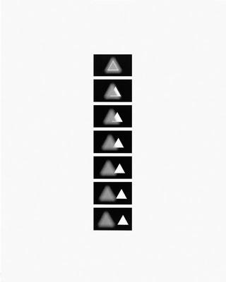 Mechano optische Untersuchung Serie 16.1970. 50 x 40 cm