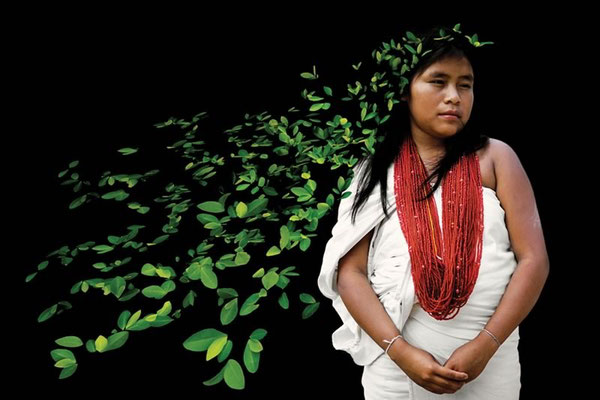 ANTONIO BRICEÑO: Awishama. Owner of coca, Wiwa culture, Colombia. 2004