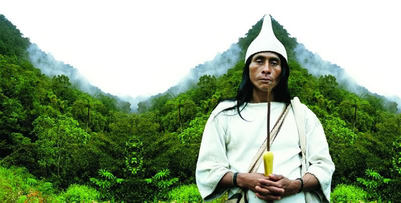 Kalakshé. Owner of forest, Kogui culture, Colombia. 2004