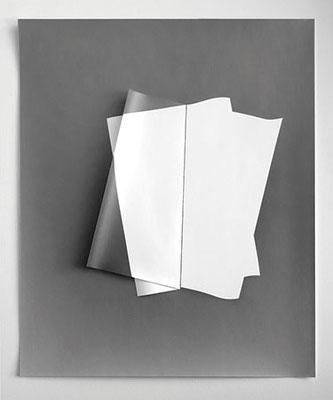 GOTTFRIED JÄGER. Fotopapierarbeit 2011-III-1-2, 2011. Silbergelatine-Barytpapier. Unikat. 60 x 50 cm