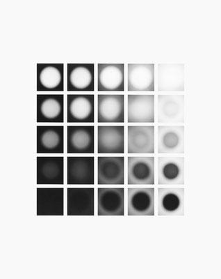 Mechano optische Untersuchung Serie 3, 1969. 50 x 40 cm