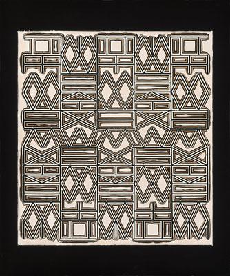 PIERRE CORDIER & GUNDI FALK. Chimigramme  I have a Dream, 2013. Chemigramm. Unikat. 60 x 50 cm