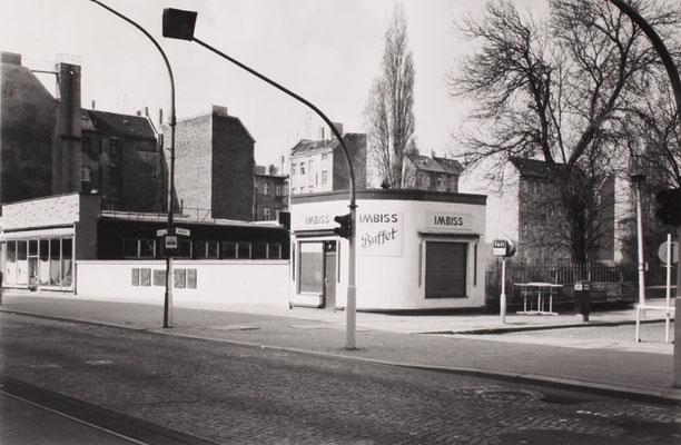 Imbiss Buffet, Schönhauser Allee, 1987