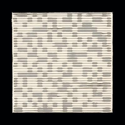 "PIERRE CORDIER & GUNDI FALK.Chimigramme 18/09/13 ""Twin"", 2013. Chemigramm. Unikat. 50 x 50 cm"
