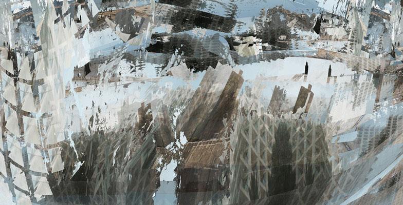 Jerusalem, 100 x 200 cm, 2012