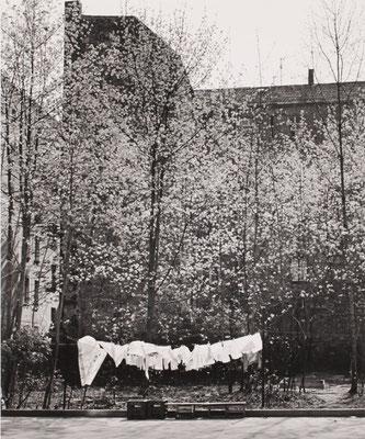 Wäsche, Kollwitzstrasse, 1987