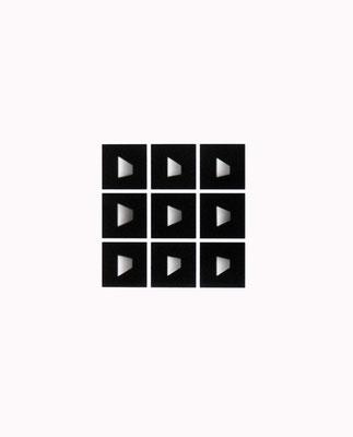 Flächen 3.1968-2010. 50 x 40 cm