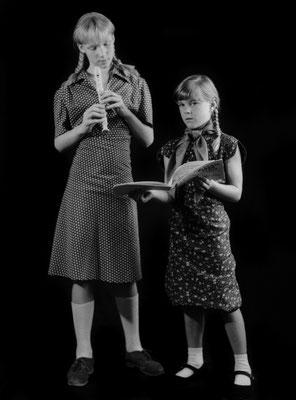 Die Flötenspielerinnen / The flutists