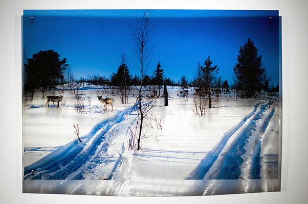 N5, 2011. 187 snows series. Ink print on 2 mm flexible metacrylate. 100 x 150 cm