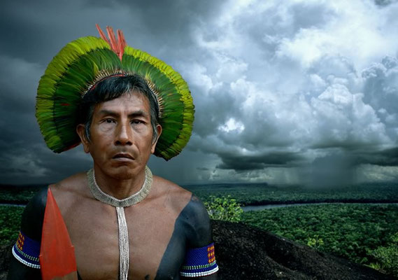 ANTONIO BRICEÑO: Bepkororotí. Owner of storms. Kayapo culture, Brazil. 2006