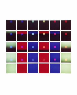 Mechano optische Untersuchung Serie 8.1971. 50 x 40 cm