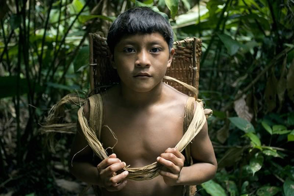 ANTONIO BRICEÑO: Ocama. Thief of the manioc seed. Ye´Kuana culture, Venezuela, 2007
