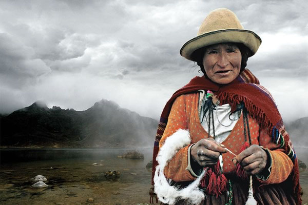 ANTONIO BRICEÑO: Mamacocha. Mother of the waters Viracocha. Quechua culture, Peru. 2005