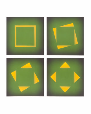 Mechano optische Untersuchung Serie 19.1975. 50 x 40 cm