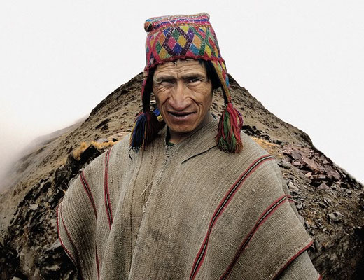 ANTONIO BRICEÑO: Wilkakunka. Guard of the mountain pass, Quechua culture, Peru. 2005