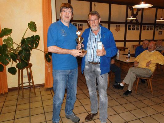 Platz 1 und damit Osterpokalsieger - Willi