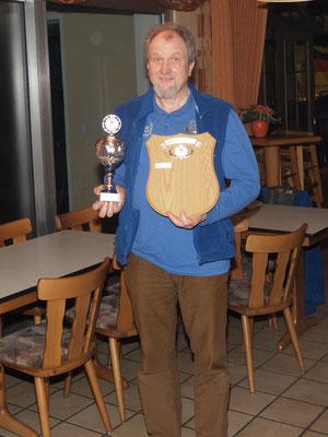 Platz 1 - Skatclubmeister 2018 - Bernd