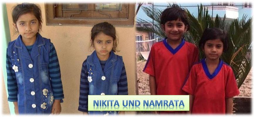Nikita und Namrata waren apathisch und traumatisiert, brachten kaum ein Lächeln zuwege. Inzwischen gibt es kaum Situationen, in denen man die beiden nicht fröhlich erlebt.