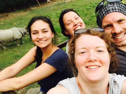 Nashorn-Selfie
