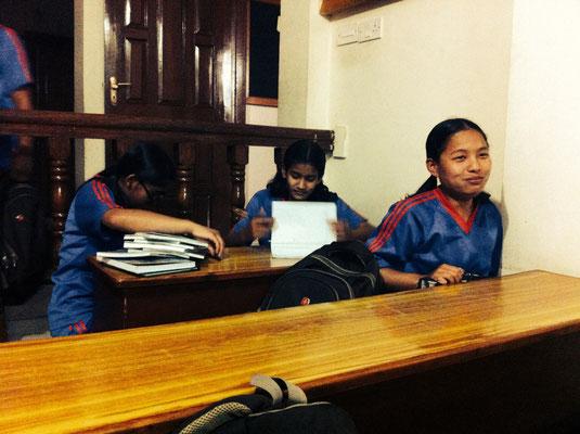 Srijana, Prabha, Nisha