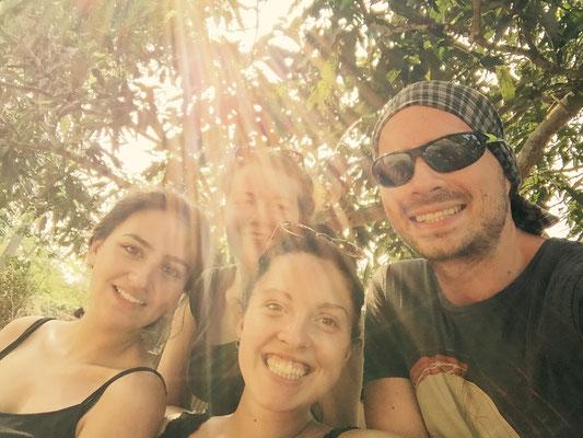 Dschungel-Selfie