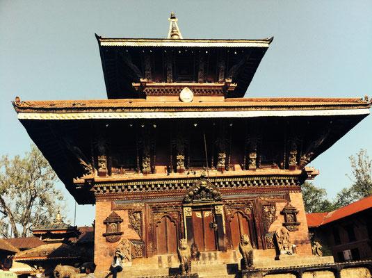Teil der Tempelanlage