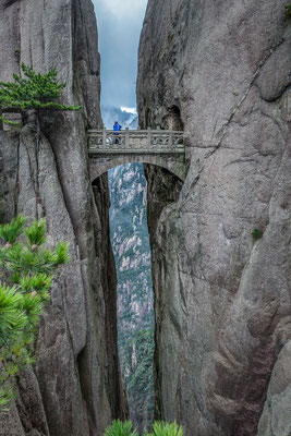 Pont des Fées - Huangshan - CHINE