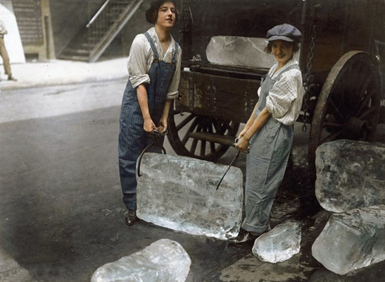 1918 ( photo colorisée )