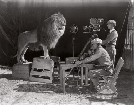 Le début de l'ère d'Hollywood - Le tournage du générique MGM 1928