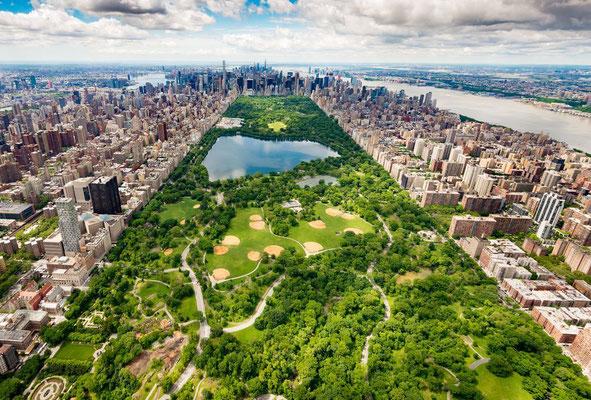 Central Park - Arrondissement de Manhattan à New York