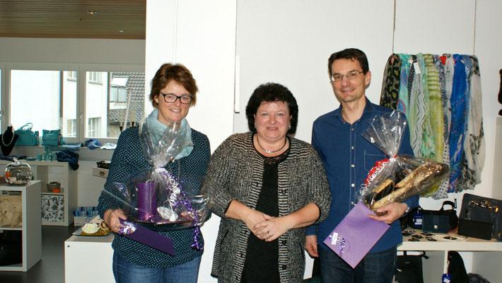 Glückliche Gewinner der Jahresschlussverlosung by Presents for 7 days (Susanne Ryser und Beat Stzeinmann