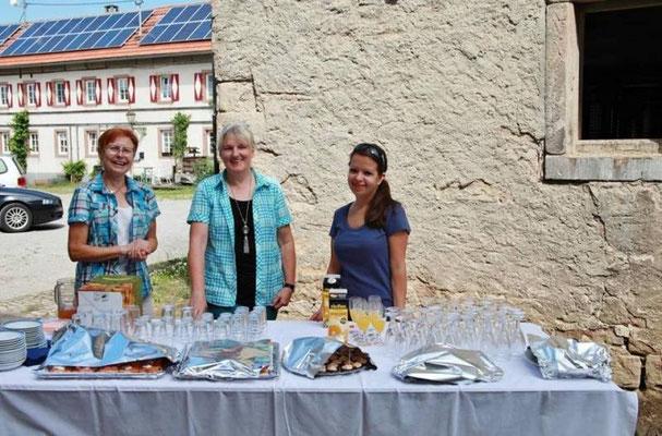 "Sektempfang ""Unser Dorf hat Zukunft"""