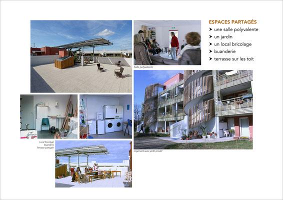 Habitat participatif Terra Arte, Bayonne, écoquartier Le Séqué