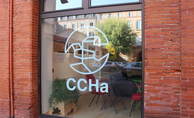 Entrée de la galerie d'exposition, Centre des Cultures de l'Habiter [CCHa]