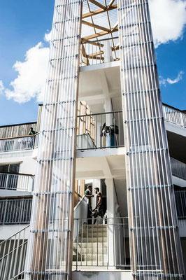 Habitat participatif Dôman, Billère - Architecte Marc Tillous ©Clara Lopes Ferreira