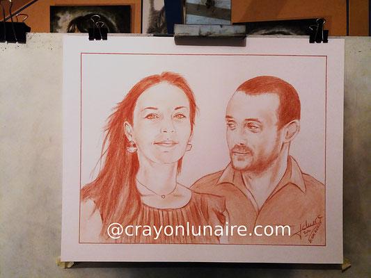 Couple-portraits-sanguine