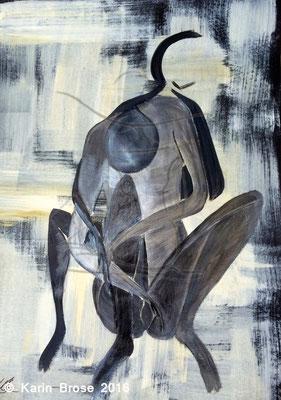 Pains, Karton, 50 x 70 cm
