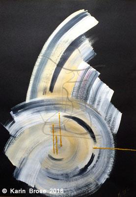 Zeit aus den Fugen, Karton, 50 x 70 cm