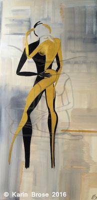 Lovers, Leinwand, 60 x 120 cm
