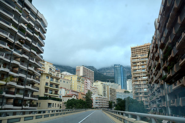 Erster und letzter Eindruck von Monaco ..