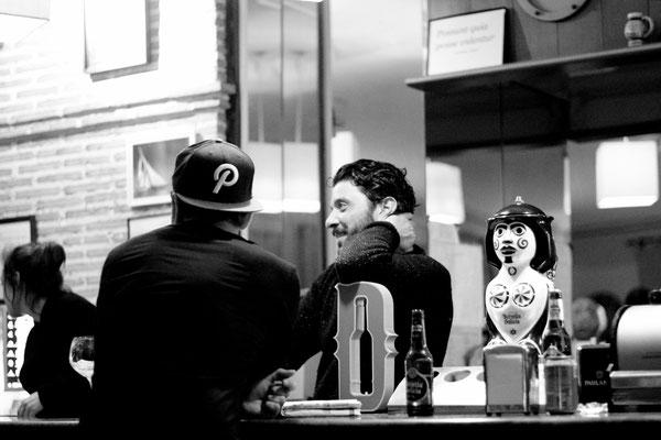 Valencia, Diegos Bar, unsere erste Stammkneipe!