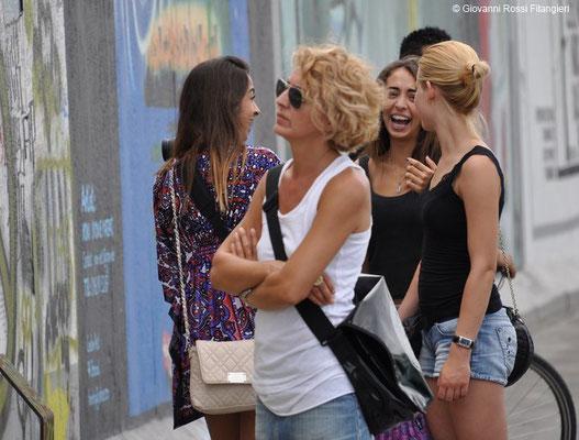 GIORDANIA turiste spagnole a Petra