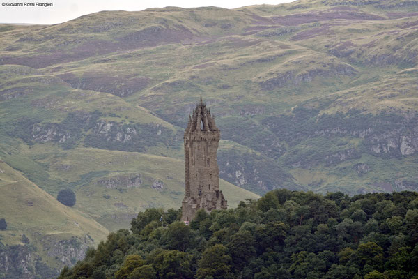 STIRLING il monumento a William Wallace