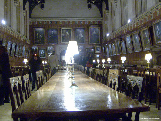 LA GREAT HALL DEL CHRIST CHURCH COLLEGE