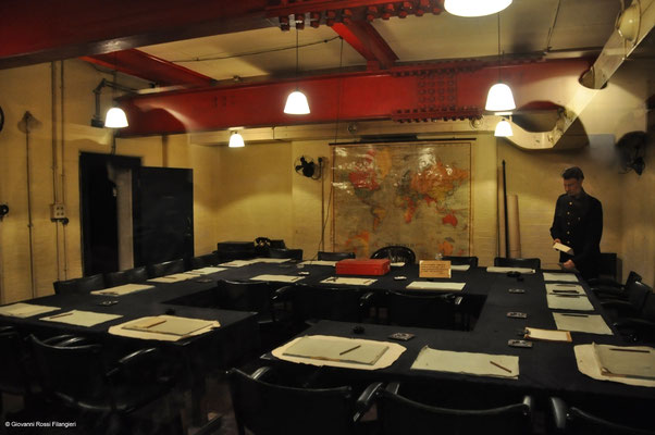 CHURCHILL WAR CABINET BUNKER
