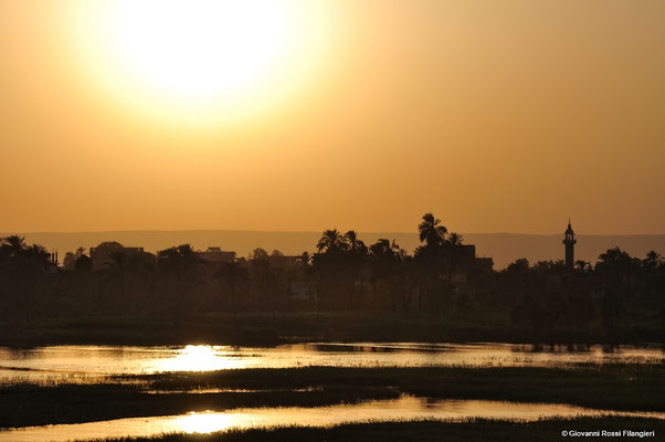 EGITTO Tramonto sul Nilo