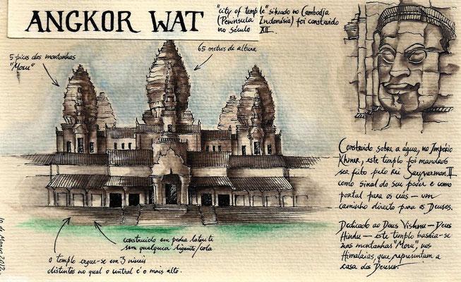 Appunti e disegni di Mouhot