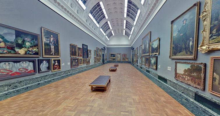 TATE BRITAIN - Una sala