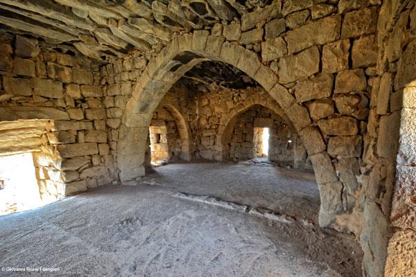 Castello di Lawrence d'Arabia ad Azraq (Giordania)